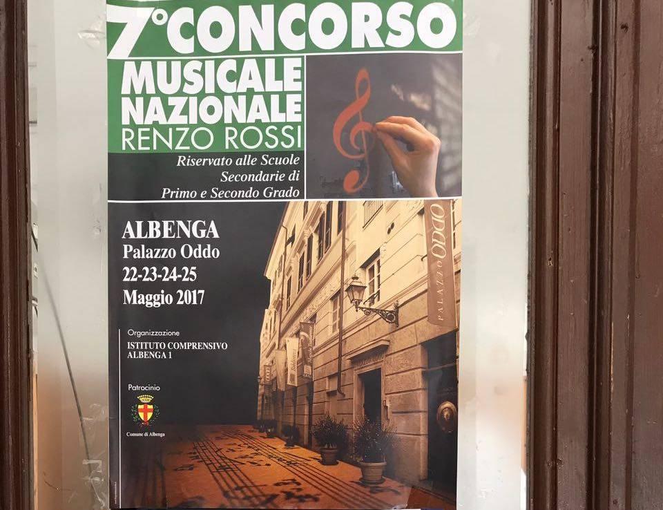 Albenga, concorso musicale Renzo Rossi