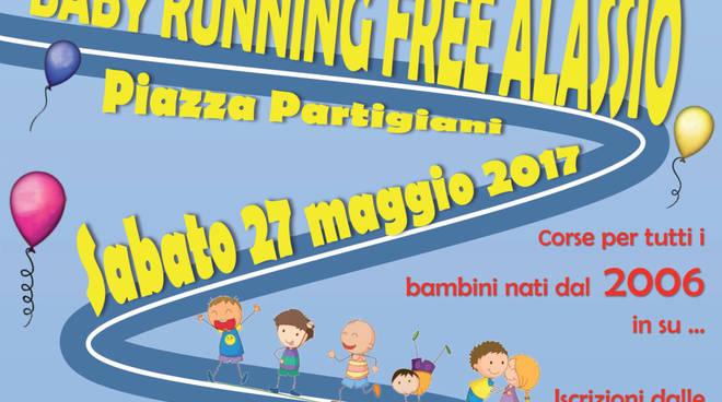 Baby Running Free Alassio