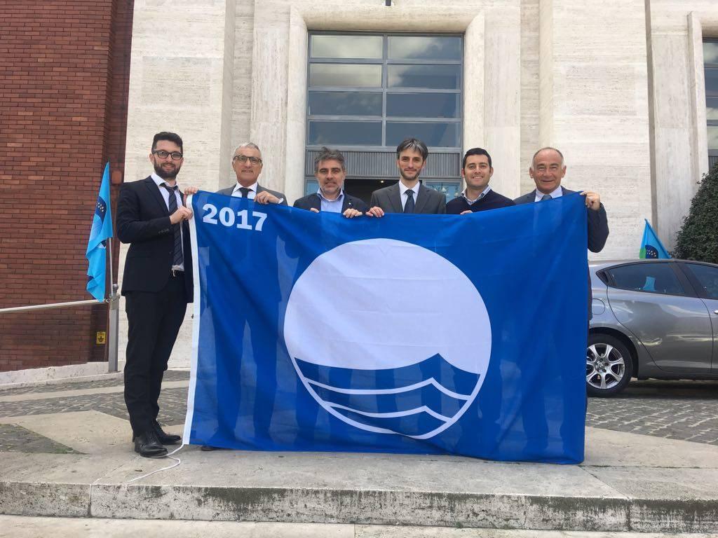 bandiera blu levante 2017