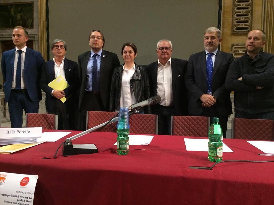 candidati sindaci italia nostra parchi di nervi
