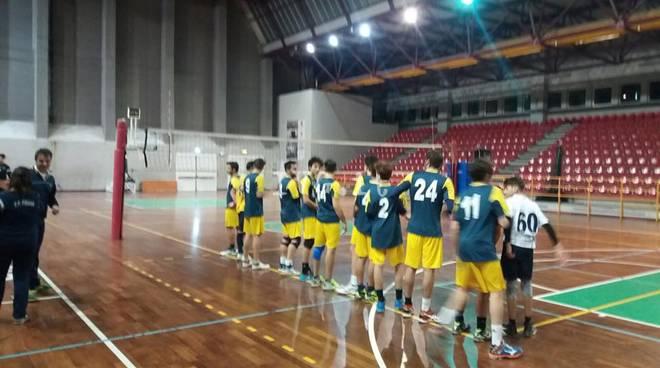 Volley: 1^ Divisione Maschile vince 3 a 0 contro l\' Alassio-Laigueglia