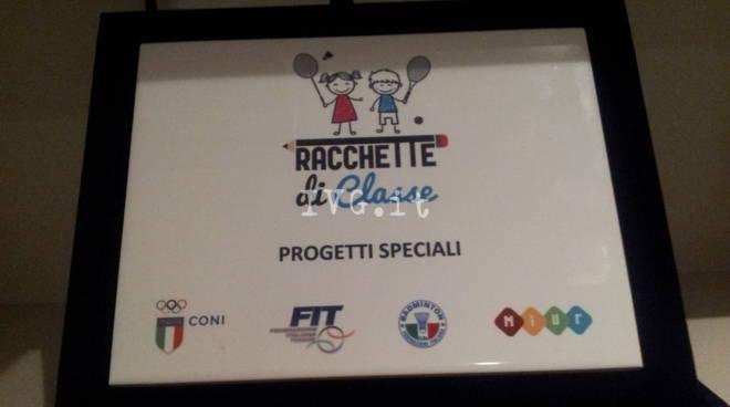 """""""Racchette di classe"""",  Roma 9 – 10 maggio 2017 . Premiati a Roma gli alunni di Finale Ligure."""