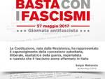 """""""BASTA CON I FASCISMI"""": il 27 maggio, anche a Savona, la Giornata antifascista promossa dall'ANPI"""