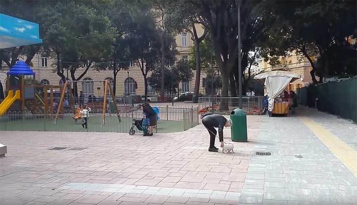 Riqualifichiamo la nuova Piazza a San Fruttuoso.