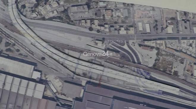 collegamento guido rossa-genova aeroporto