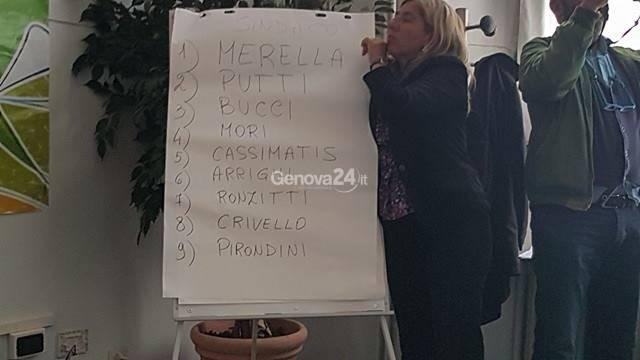 estrazione nomi liste genova2017