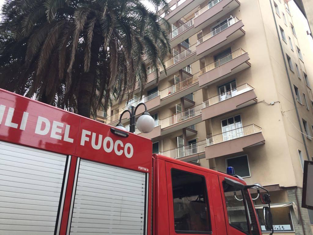 Fuga di gas in corso Italia a Pietra Ligure