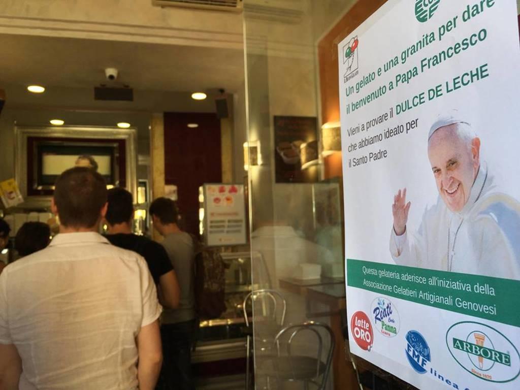 il gelato di papa francesco