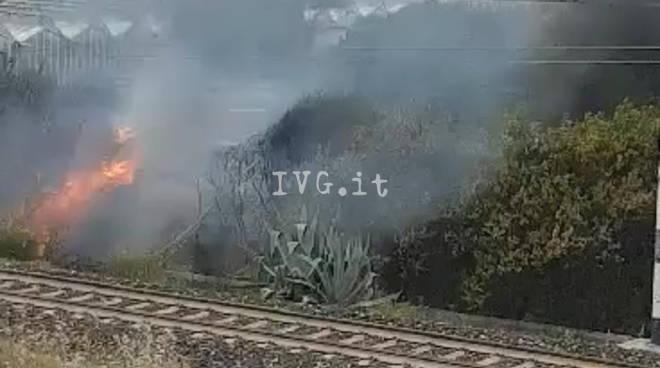 incendio vadano serra via cellini