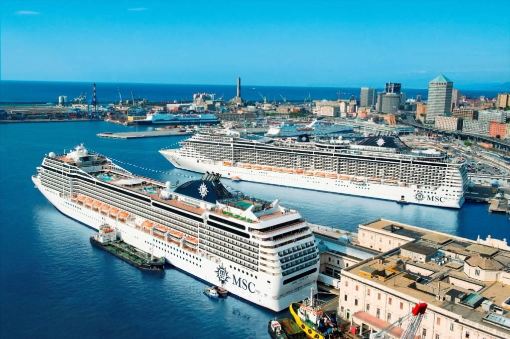 genova da record per msc crociere 22 navi e 83 mila