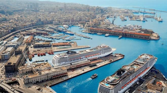 Msc Crociere Genova, porto di Genova