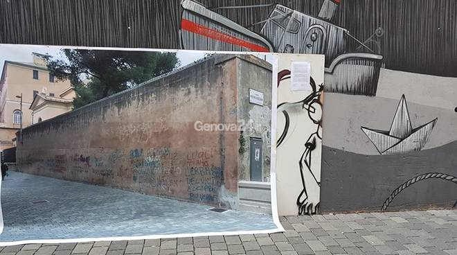 Murales Sampierdarena