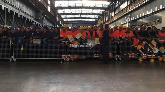 Genova, Papa: non reddito per tutti, ma lavoro per tutti