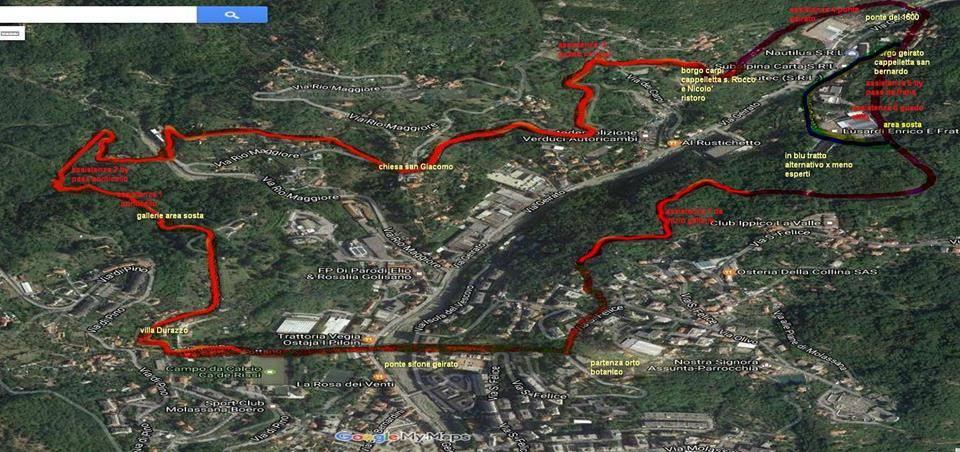 percorso acquedotto storico