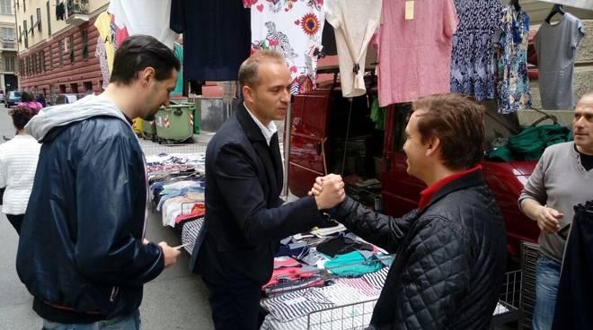 Pirondini al mercato di via Rolando