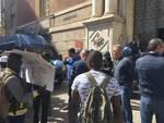 Protesta dei profughi