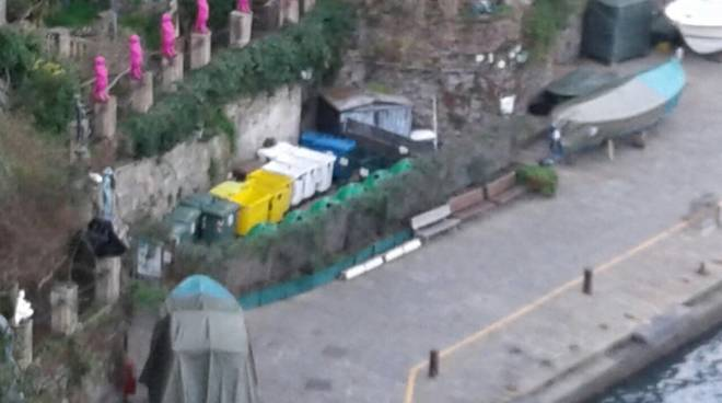 Raccolta differenziata Portofino