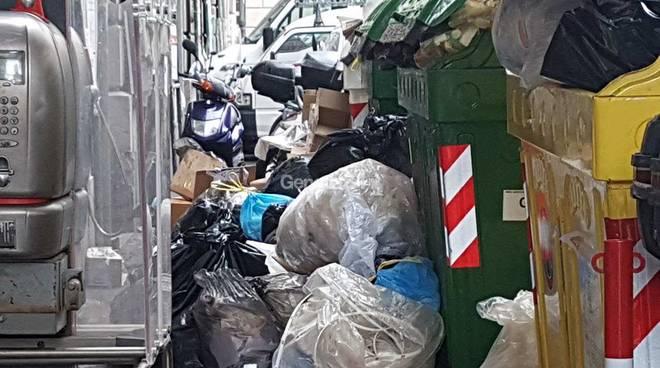 spazzatura in centro