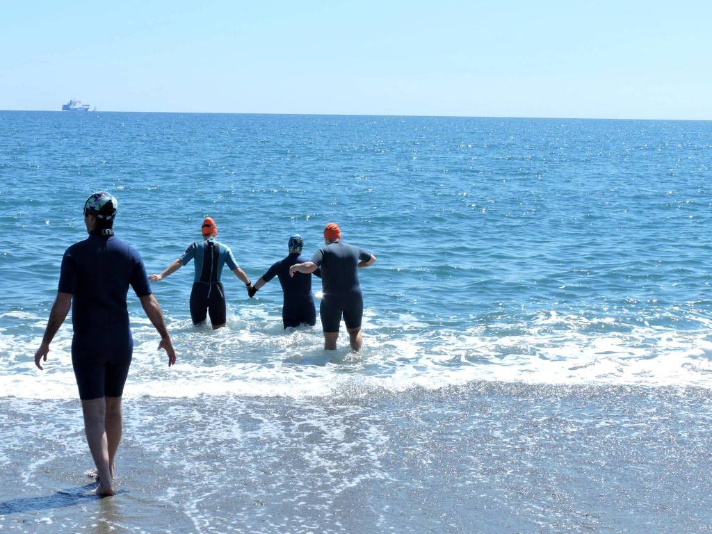 special olympics nuoto acque libere