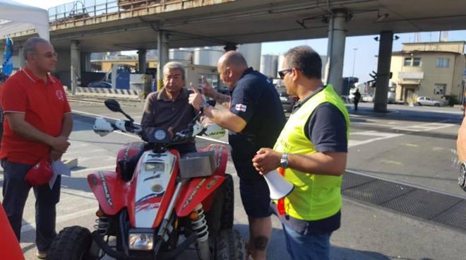 Sciopero degli autotrasportatori, presidio a Firenze