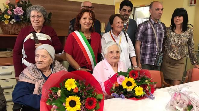 Tre compleanni centenari al Trincheri di Albenga