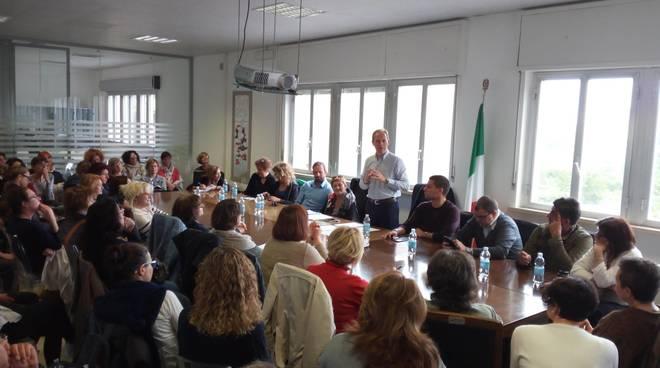Andora Scuola Via Cavour Incontro Sindaco Insegnanti