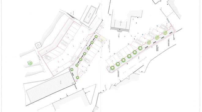 Progetto Ampliamento piazza San Giovanni Cantalupo Varazze
