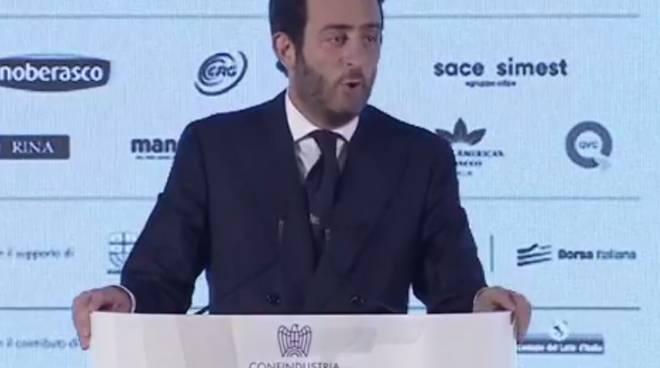 Alessio Rossi, giovani imprenditori Confindustria