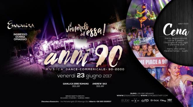 Venerdì 23 Giugno, Special Party Anni 90, 2000 & Dance
