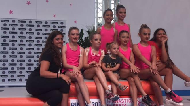 L\'ArteGinnastica ai nazionali di serie D a Rimini