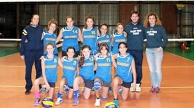 Volley: vittoria per l\' U13F contro l\' Andora