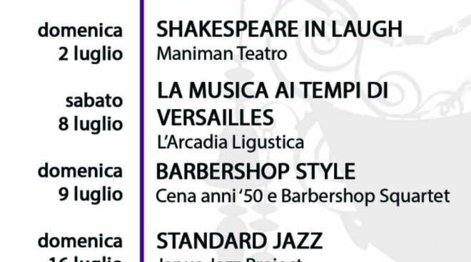 Concerti a Villa Pallavicini