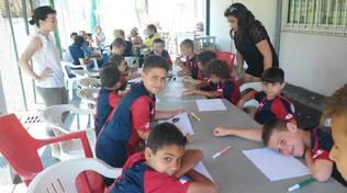 The young boys SCHOOL camp Legino 3 edizione 2017