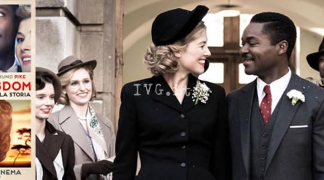 Stasera al NuovoFilmStudio di Savona: A united kingdom - L\'amore che ha cambiato la storia