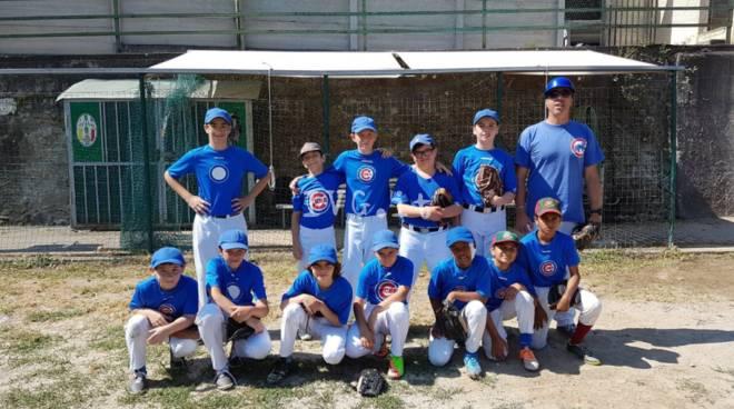 Baseball: I Cubs la spuntano contro i Genovesi al Campo Viola