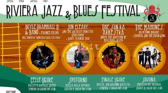 RIVIERA JAZZ & BLUES FESTIVAL 2017