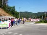 Corteo di protesta per i miasmi a Ferrania
