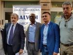 Davide Rossi, Marco Bucci, Toni Iwobi, Edoardo Rixi