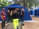 Esercitazione della Protezione Civile nel levante savonese