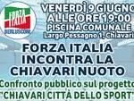 Forza Italia incontra la Chiavari Nuoto