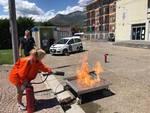I dipendenti del Comune di Borghetto a lezione di antincendio
