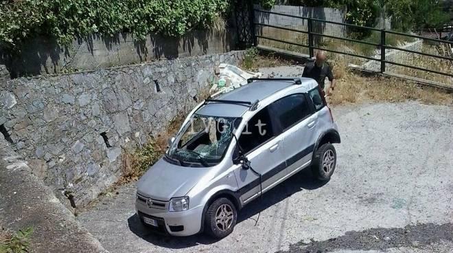 Incidente auto Testico Alassio