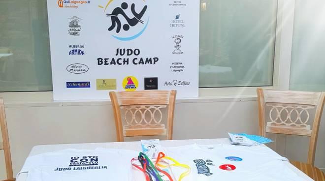 judo beach camp Laigueglia