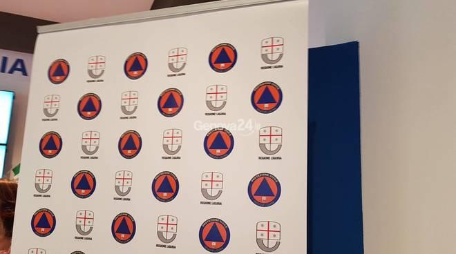 La nuova sala news 24 della protezione civile