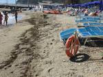 Noli, danni sulle spiagge causati dalla mareggiata