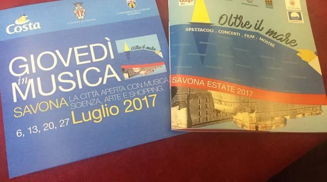Presentazione eventi estate 2017 Savona