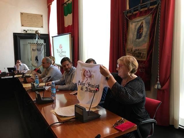 Presentazione Palio dei Rioni Albenga 2017