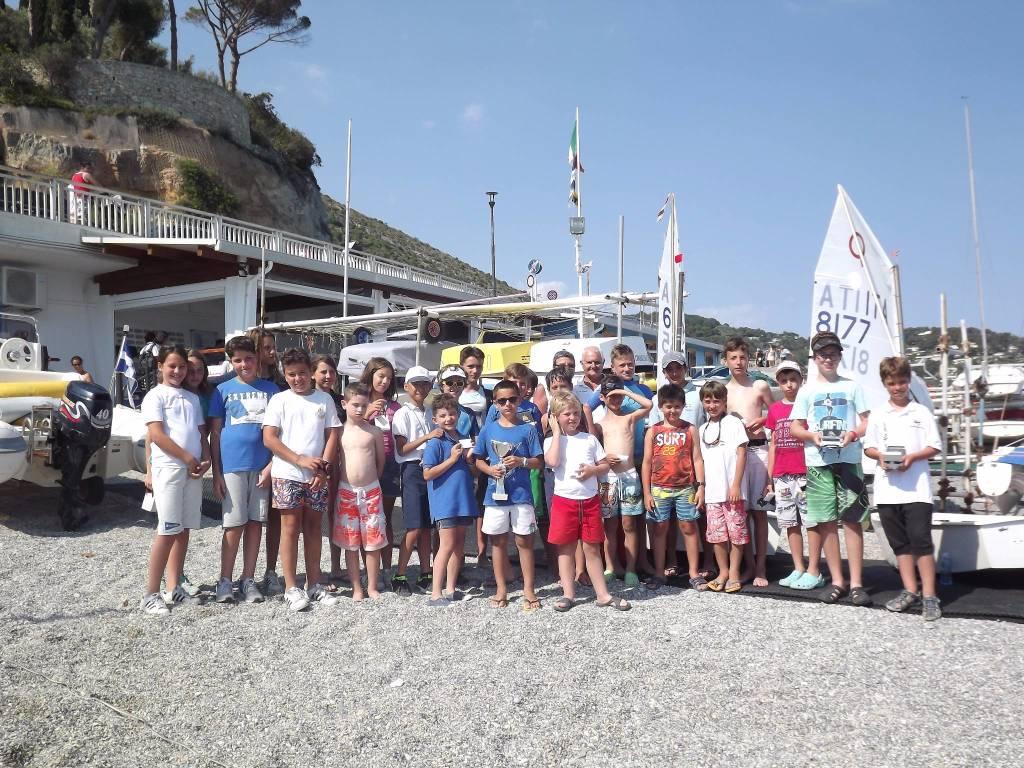 regata per Optimist Lega navale Spotorno