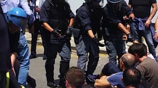 sda polizia lavoratori sciopero