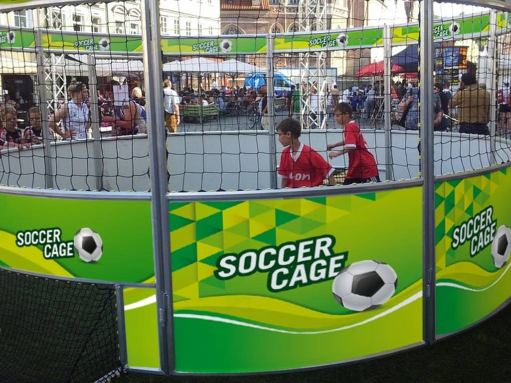 soccer cage